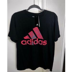 Adidas Men Black T-Shirt
